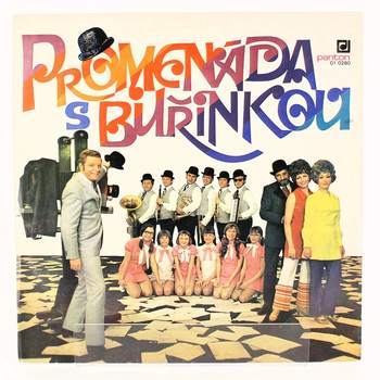 Gramodeska LP Promenáda s buřinkou