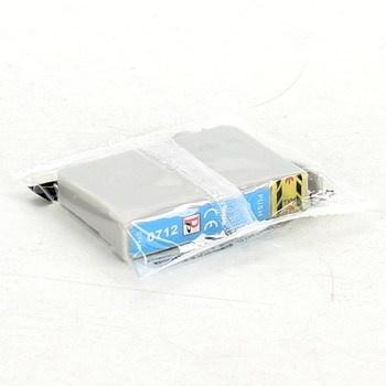 Inkoustová cartridge 0712 azurová