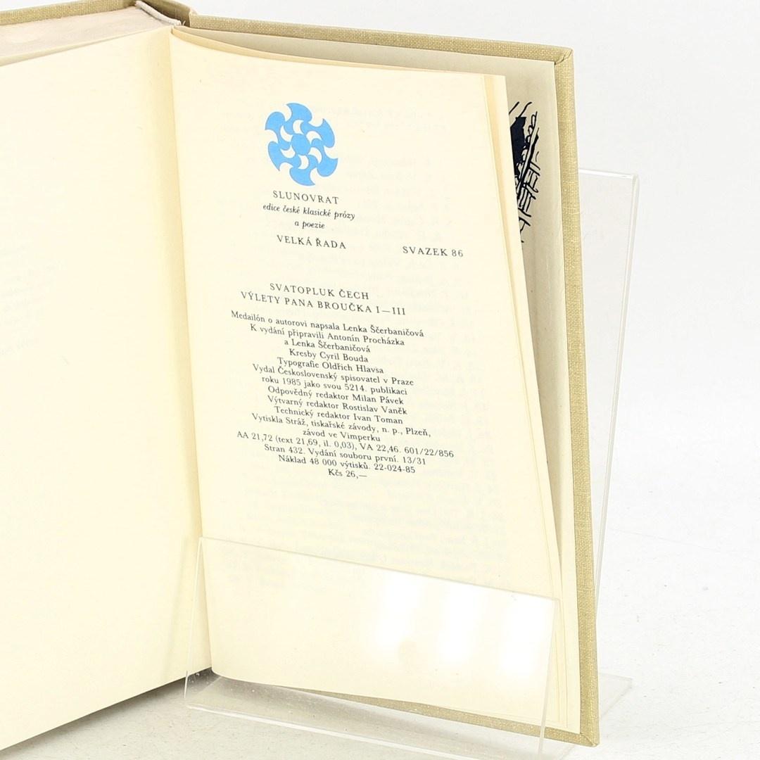 Kniha Čech: Výlety pana Broučka I-III