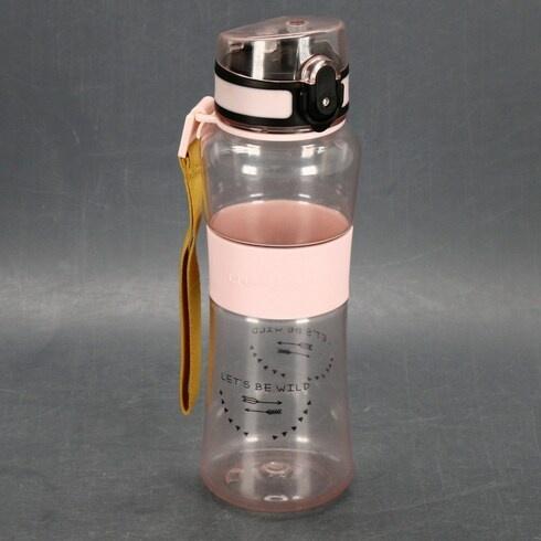 Dětská láhev na pití Lassig Tritan Růžová