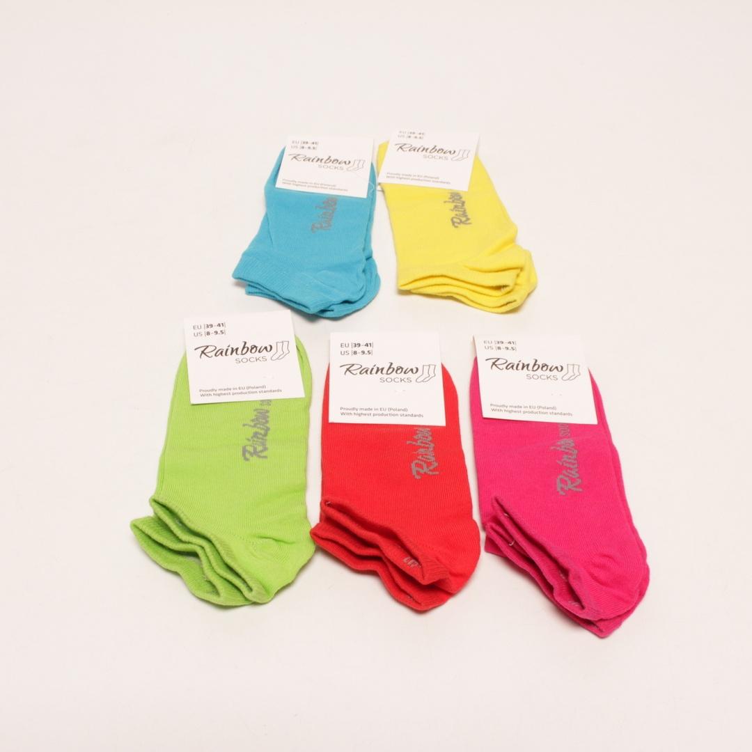 Dámské ponožky Rainbow 6POCZEZOMOZIFUXSSTO