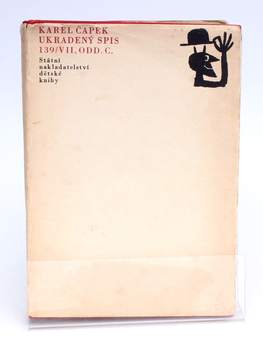 Ukradený spis 139/VII, odd. c. Karel Čapek