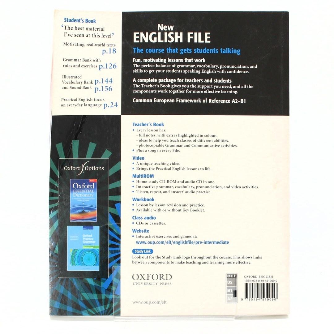 Učebnice New English file Pre-intermediate