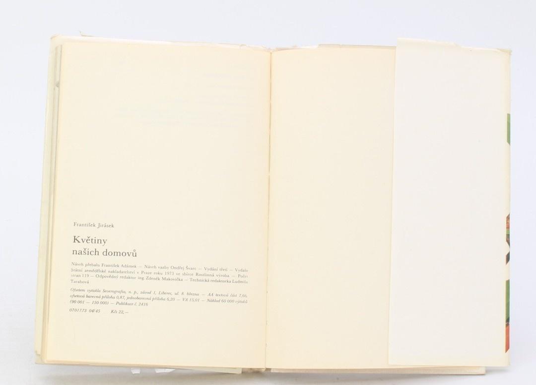 Kniha František Jirásek: Květiny našich domů