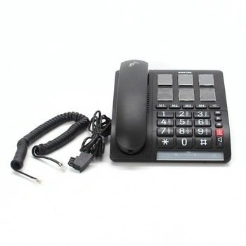 Telefon se sluchátkem Switel TF540