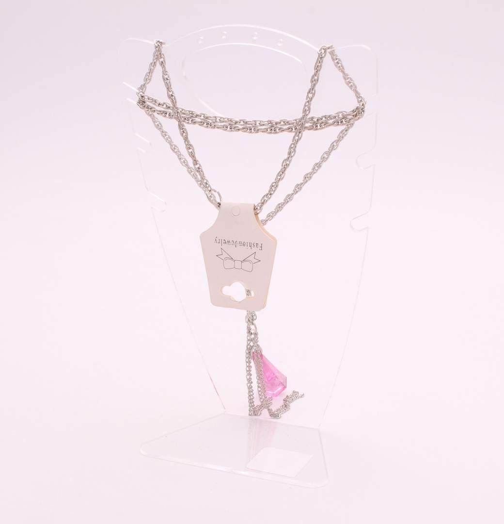 Dlouhý dámský náhrdelník - bižuterie