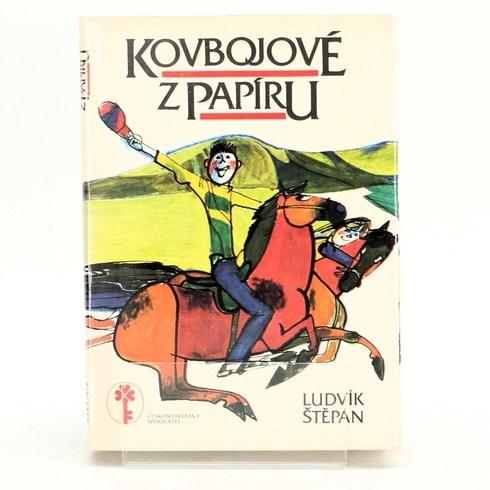 Kniha Kovbojové z papíru