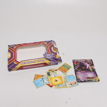 Kartiy na hraní Pokémon TCG Gengar EX Box