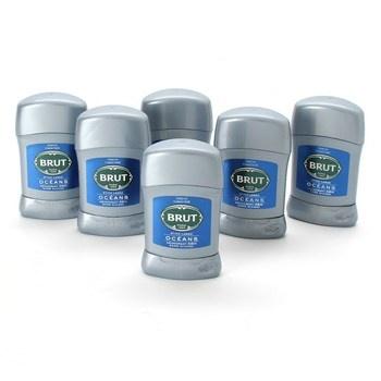 Deodorant BRUT Ocean stick pánský 6x100 ml