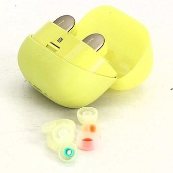 Bezdrátová sluchátka Sony WF-SP900 žlutá