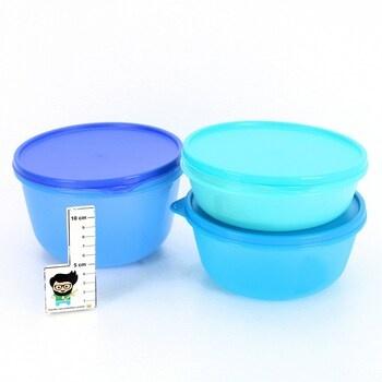 Boxy na potraviny Tupperware 3 ks tyrkysové