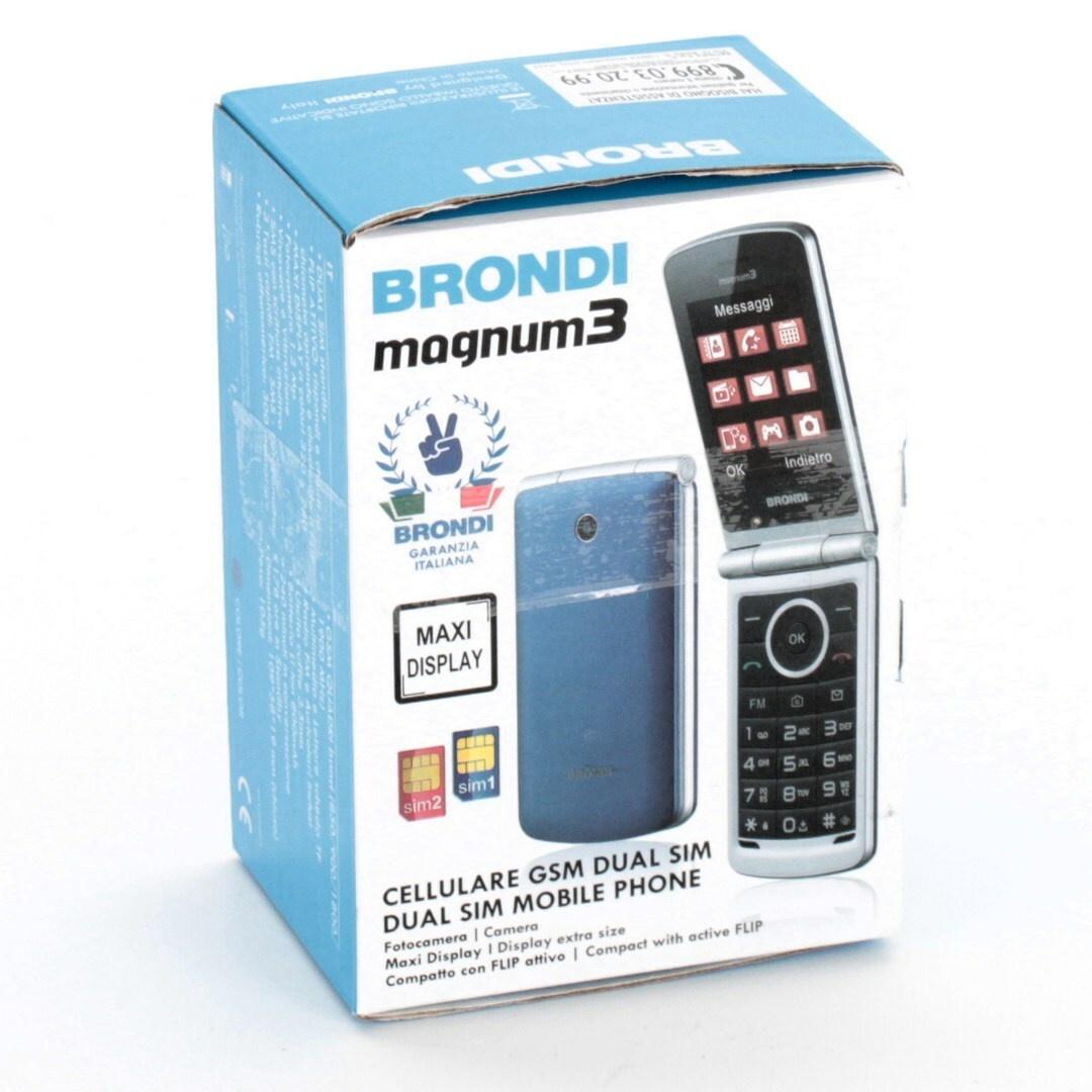 Mobilní telefon Brondi Magnum 3 Blu/Viola