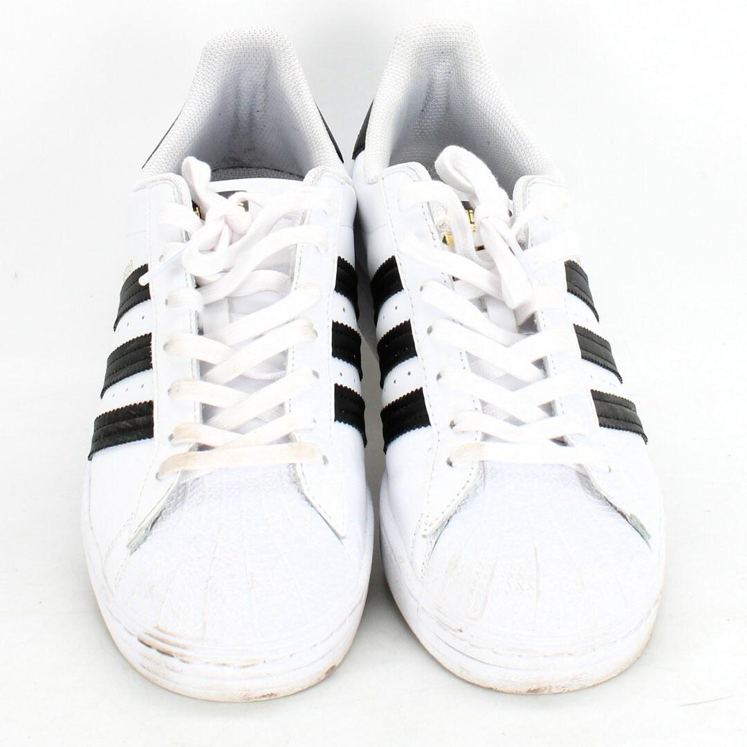 Tenisky Adidas Kožené bílé sport