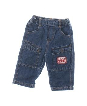 Dětské džíny Disney modré s nášivkou