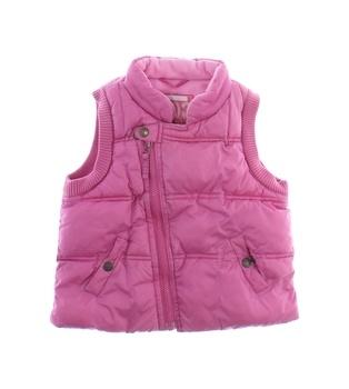 Dívčí vesta Next zimní růžová