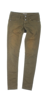 Dámské džíny Terranova zelené