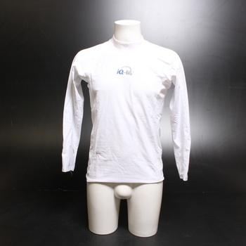 Pánské tričko IQ-UV bílé dlouhý rukáv