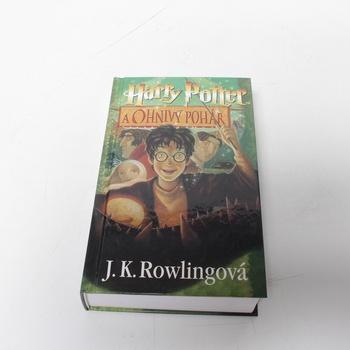 Kniha Harry Potter a Ohnivý pohár