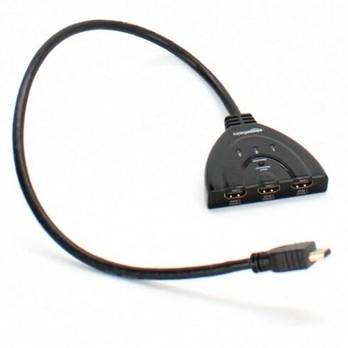HDMI přepínač AmazonBasics Pigtail-Switch-3