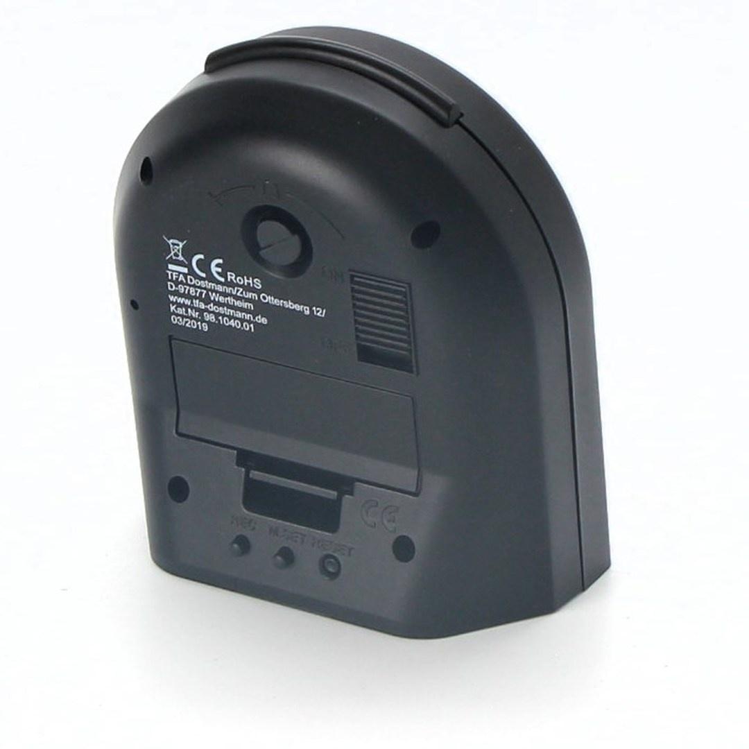Budík TFA 98.1040.01 černý
