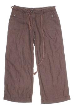 Dámské kalhoty Next hnědé