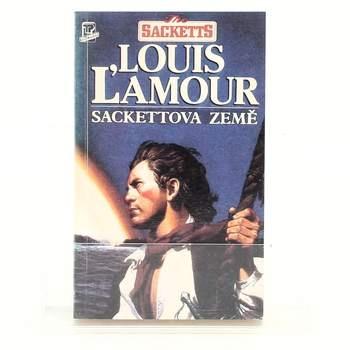 Kniha Louis L'amour: Sackettova země