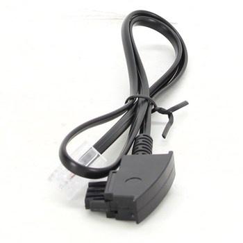 Síťový kabel TAE-F RJ45 černý