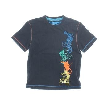 Dětské tričko Marks & Spencer modré s bikery