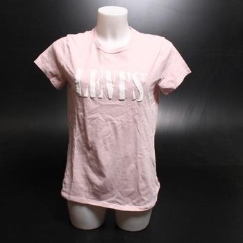 Dámské tričko Levi's růžové 17369