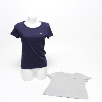 Dámské trička Levi's 74856-0008 2 kusy L