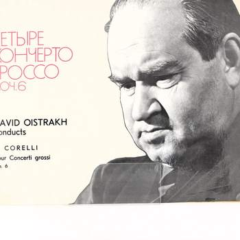 Gramofonová deska David Oistrakh