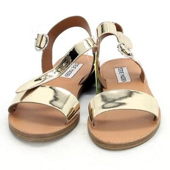 Dámské zlaté sandále Steve Madden
