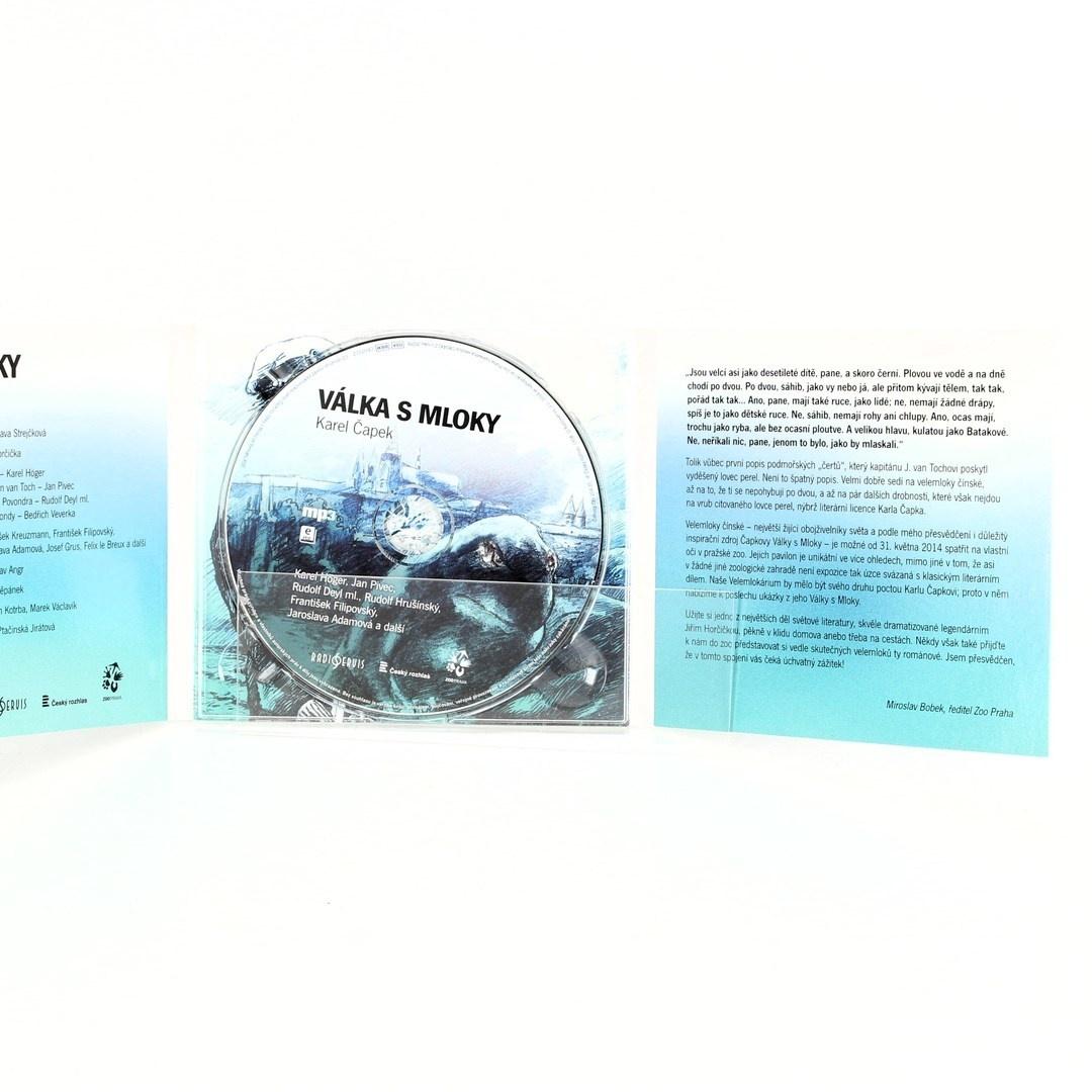 Audiokniha K. Čapek - Válka s mloky