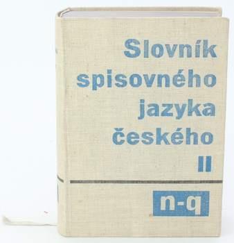 Slovník spisovného jazyka českého
