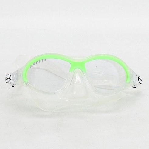 Plavecké brýle Cressi plastové průhledné