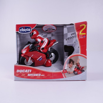Motorka na ovládání Chicco 00389 Ducati 1198