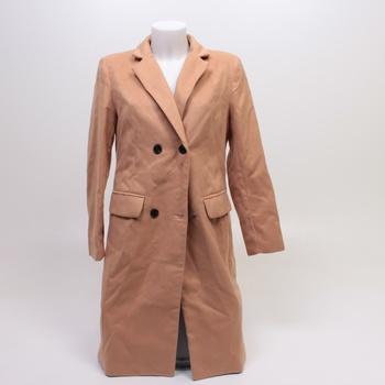 Dámský kabát Hawiton hnědé barvy