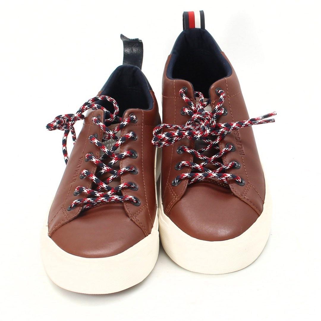 Pánské boty Tommy Hilfiger hnědé EU 42