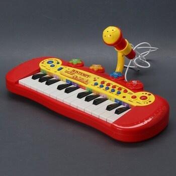 Piano s mikrofonem Bontempi