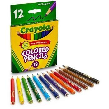 Dvanáct pastelek Crayola na malování