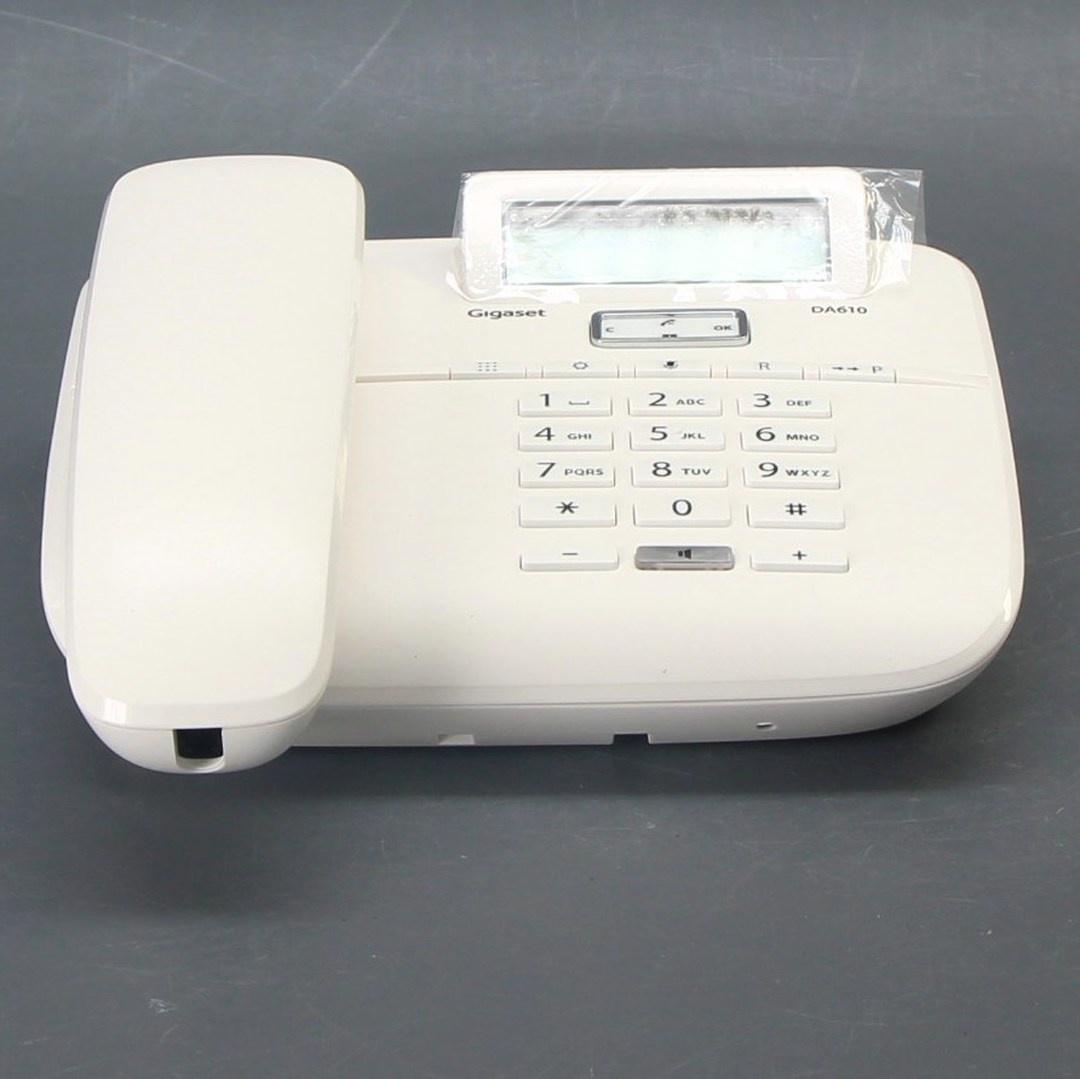 Bezdrátový telefon Gigaset DA610 bílý
