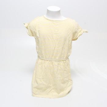 Dívčí šaty Name it pruhované