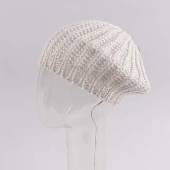 Dámská čepice Accessoires bílé barvy b04149895f