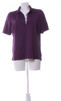 Dámské tričko Crivit fialové na zapínání