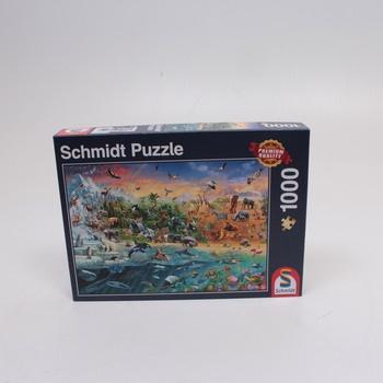 Puzzle svět zvířat Schmidt Spiele 58324