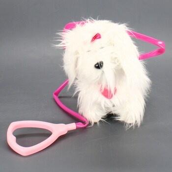Plyšový pejsek Animagic Fluffy 31150.43