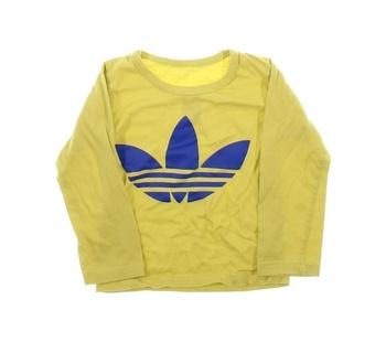 Dětské tričko Adidas žluté