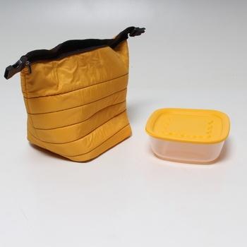 Termotaška s dózou Guzzini 0329 žlutá