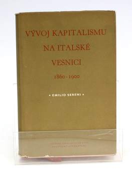 Kniha Vývoj kapitalismu na italské vesnici