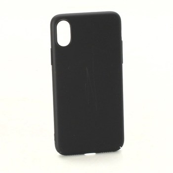 Černý kryt na mobil Apple iPhone X